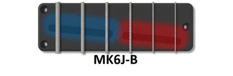 string mk shape  soapbar mkj bartolini pickups