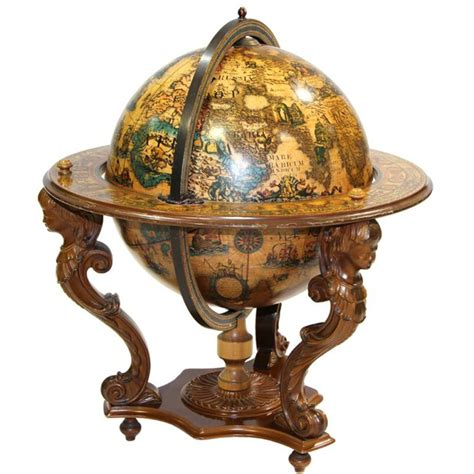 Home Interior And Gifts Inc by An Italian Baroque Globe Bar At 1stdibs