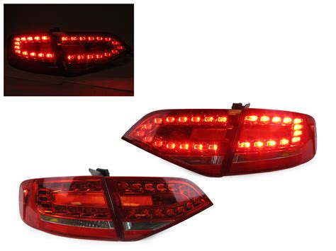 depo real oem rs4 look led clear light 09 12 audi