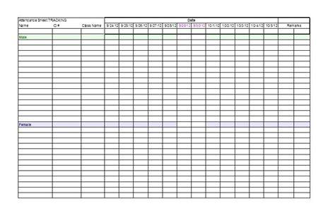 School Register Template Spreadsheet by Printable Attendance Sheet School Register Template