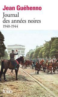 les annees folio 2070402479 journal des ann 233 es noires folio folio gallimard site gallimard