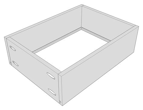 Make A Drawer Box by How To Build Drawer Boxes