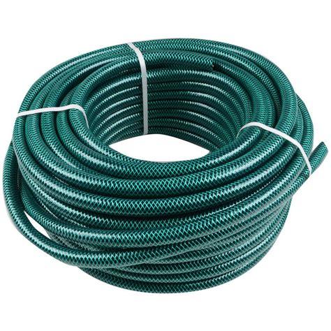 Standard Garden Hose Size green jem 30m length braided green garden hose pipe