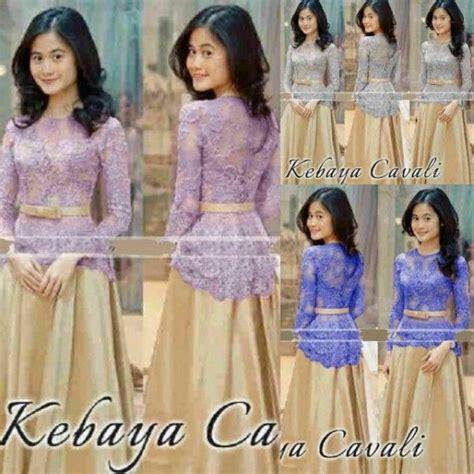 Baju Batik Muslim Biru 17 best ideas about kebaya muslim on kebaya