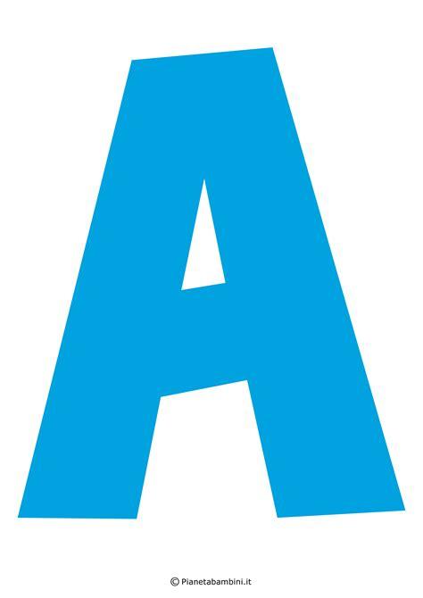 le lettere dell alfabeto italiano lettere dell alfabeto colorate e grandi da stare