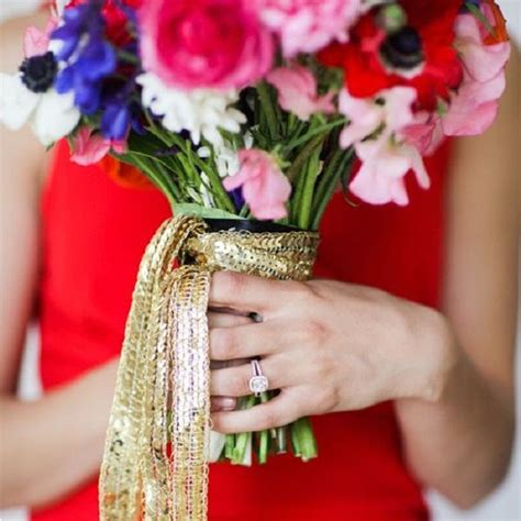 Wedding Bouquet Ribbon Wrap by Wedding Bouquet Wraps Handles Ribbons Personalise Your