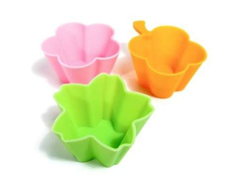Silicon Die Cut Food Cup Tomica bento accessories silicone food cup flower for buy