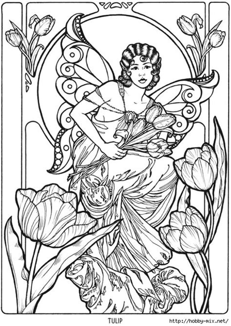 fairies in bloom a flower coloring book books 1818 best images about coloring pages on