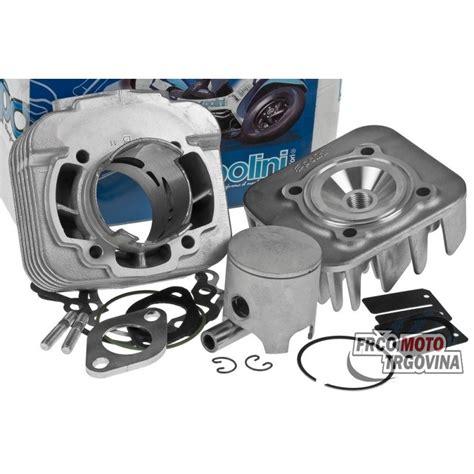 Skuter Alumunium cilinder kit polini aluminium 70cc gilera piaggio ac