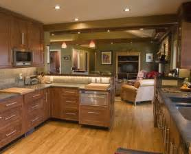 peninsula kitchen layout decorating ideas