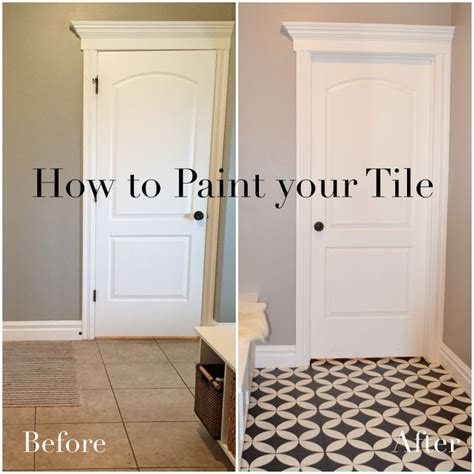 paint bathroom floor tile best 25 painting tile floors ideas on pinterest