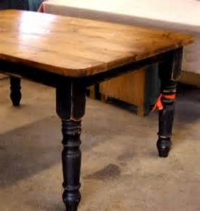 Distressed Black Kitchen Table Painted Black Bottom Distressed Stain Top Darker Image Result For Http Www