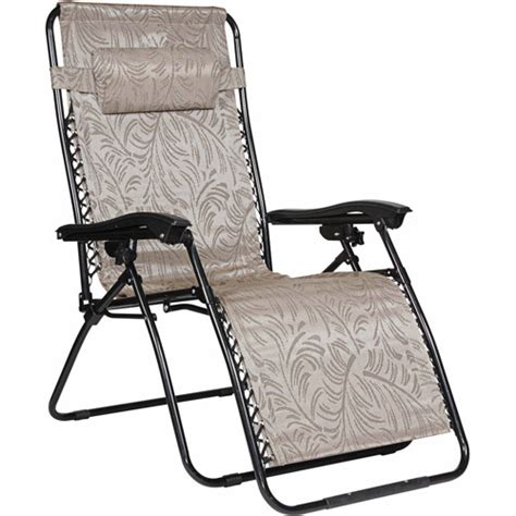 Gravity Chair Walmart by Camco Large Zero Gravity Chair Walmart