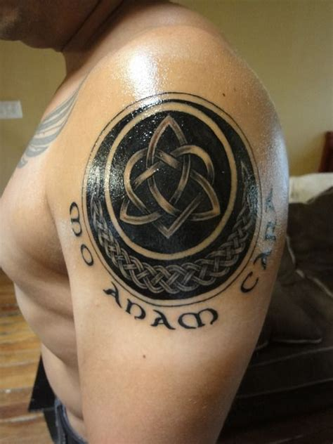 soul mate tattoos celtic knot soul mates cool tattoos anam