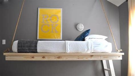 hanging bed designs floating  creative bedrooms
