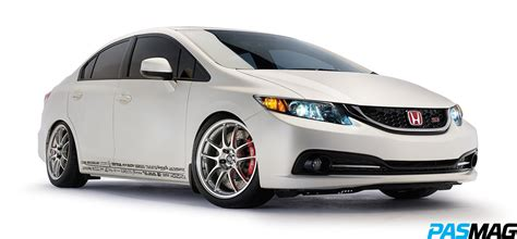 Tuned Honda Civic by Pasmag Performance Auto And Sound Tuned By Honda 2013