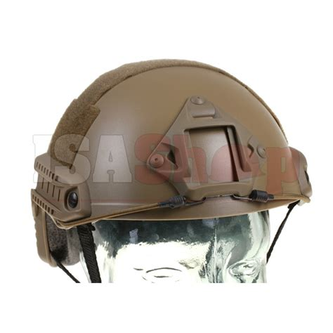 Helm Tactical Emerson Gear Fast Helmet Mh Type Airsoft Em8812 fast helmet mh eco version iron site airsoft shop