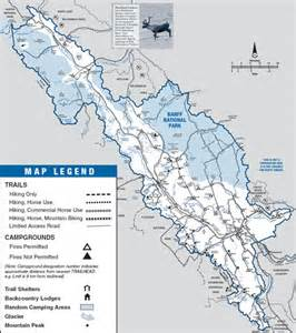 Banff Canada Map by Parks Canada Banff National Park Looking For Trip Ideas