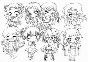 Galerry animal chibi coloring pages