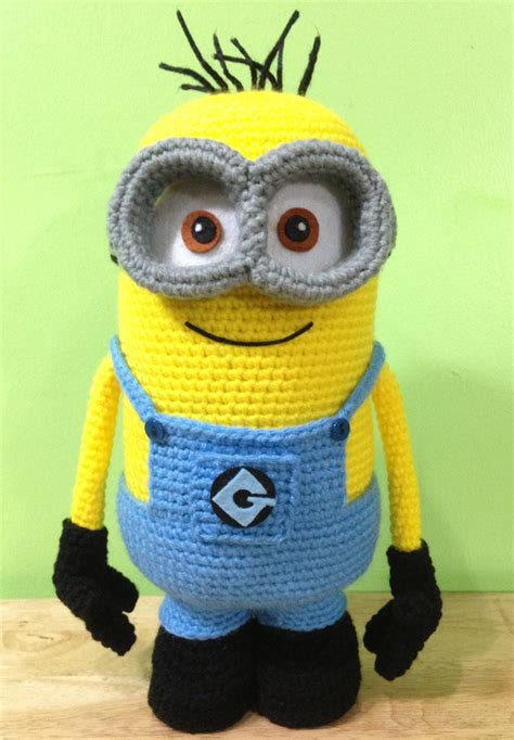 pattern crochet minion 19 perfect makes for the minion lover in your life