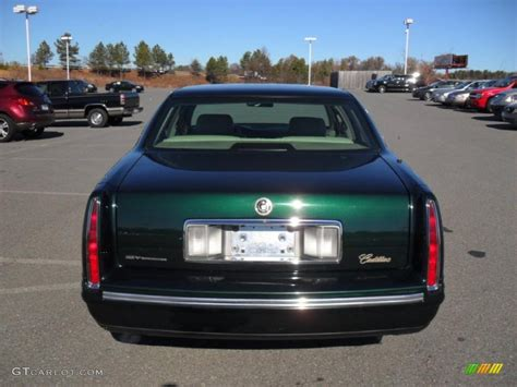 1997 polo green metallic cadillac sedan 42327254 photo 3 gtcarlot car color