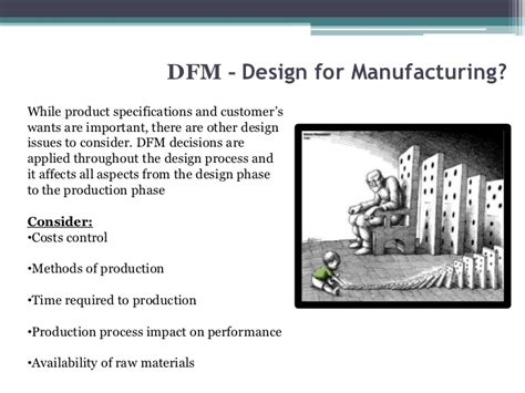 design for manufacturing presentation chapter 5 basic design for manufacturing