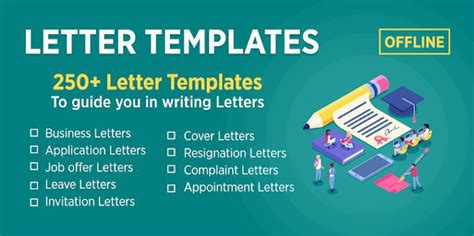 letter templates offline alternatives similar apps
