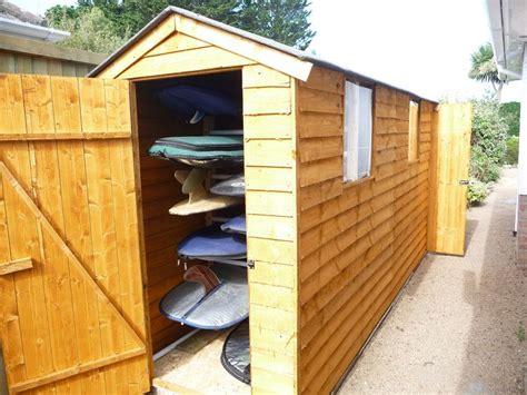 Surfboard Storage Shed surfboard storage idea outdoors surfboard storage storage ideas and sheds