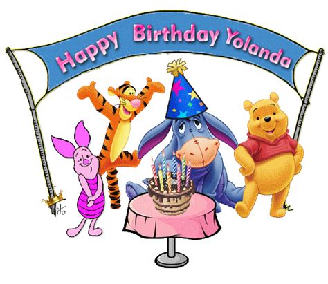 yolanda birthday happy birthday yolanda glitter text 187 personal 187 happy