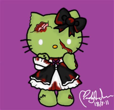 hello kitty zombie wallpaper zombie hello kitty