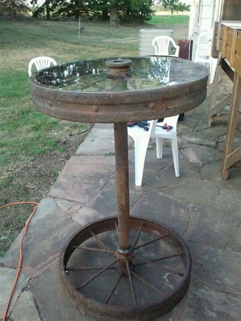 Repurpose Ls by Wagon Wheel Table Wheels And Western D 233 Cor On