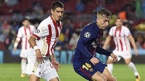 barcelona olympiacos streaming olympiacos vs barcelona live stream watch the chions