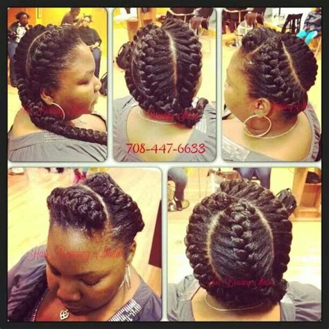 3 goddess braids hairstyles goddess braids black hair styles pinterest
