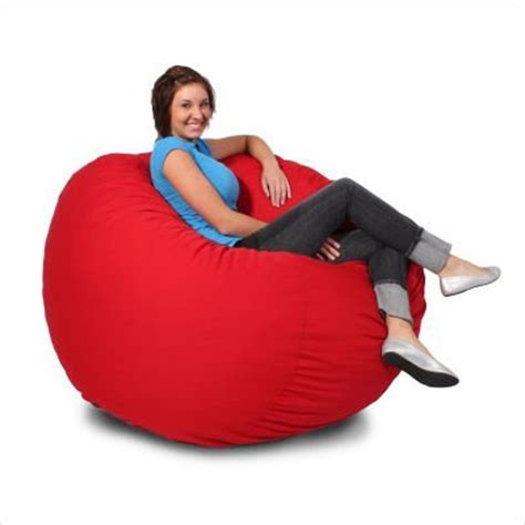 comfort research bean bag fill fuf large foam chair by comfort research