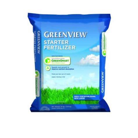 greenview 16 lb starter fertilizer 2131164x the home depot
