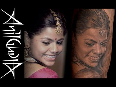 gupta tattoo nyc anil gupta tattoo portrait 0013 jan2014 youtube