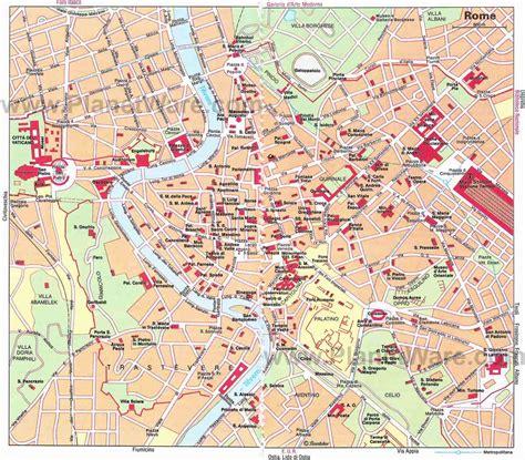 printable street map rome city centre a voir voyage 224 rome abcvoyage avion h 244 tel s 233 jour