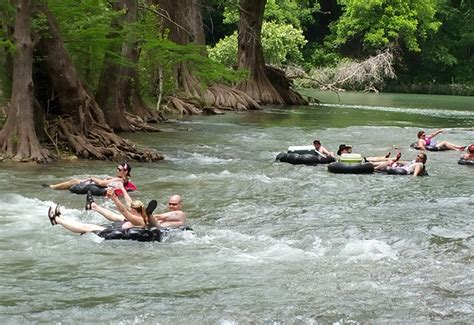 Floating The Guadalupe River Cabins by Guadalupe River Whitewater Sports Toob Kayak And Raft