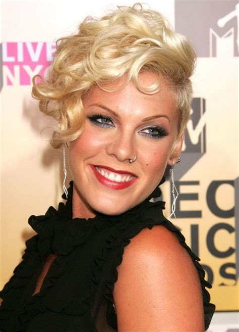 hair styles from singers hairstyles p nk