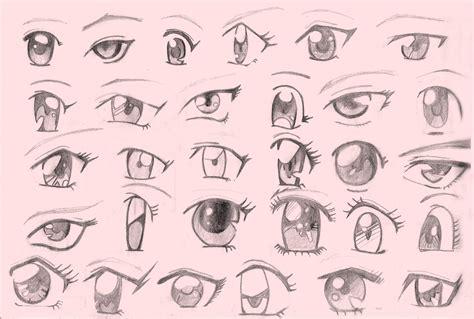 imagenes de ojos faciles de dibujar como dibujar ojos realistas y anime facil y bien