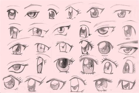 imagenes de ojos con orzuelos dibujar ojos anime