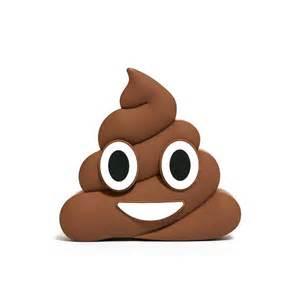 Poop Charger   Emoji Shaped Power Bank