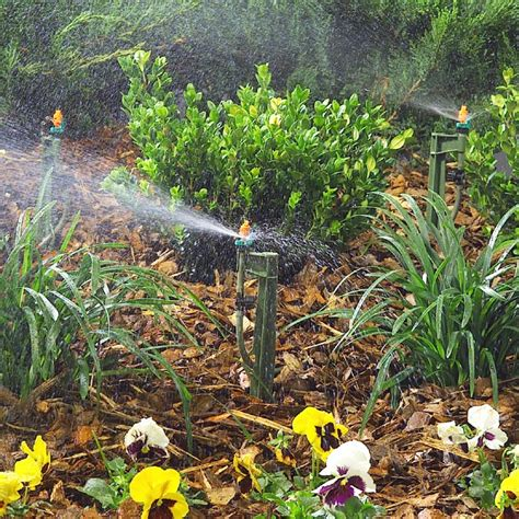 flower bed sprinklers drip irrigation system buying guide