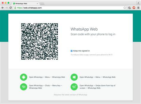 whats app web comment utiliser whatsapp sur votre pc