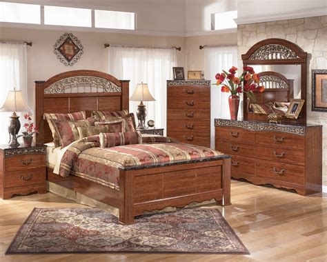 ashley bedroom set ashley bedroom b105 fairbrooks estate best rents plus