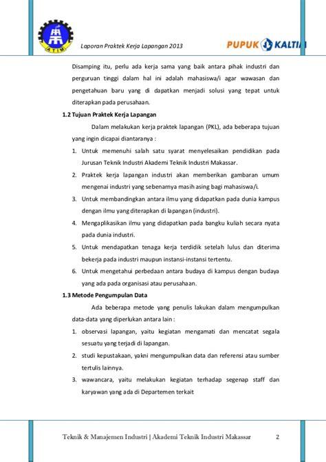 laporan praktikum membuat pupuk kompos laporan pkl pt pupuk kaltim