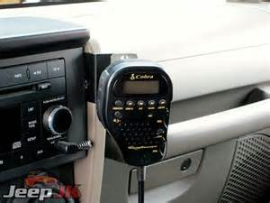 jeep wrangler jk cb install jeep jk