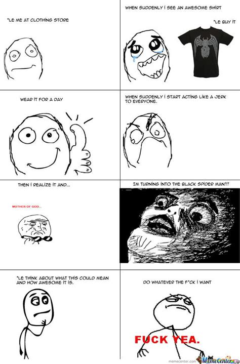 Create A Meme Comic - my first rage comic super funny by rickrolltroll meme
