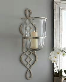 Mirror Candle Wall Sconces Decorative Wall Sconces Glass Home Design