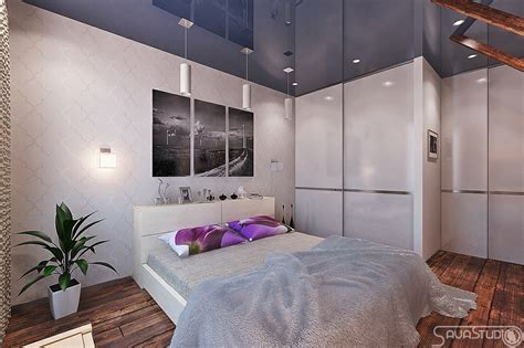 purple and white room purple white bedroom blue gloss ceiling treatment